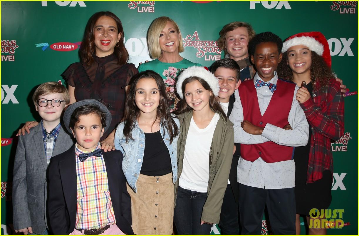 Maya Rudolph & Jane Krakowski Promote \'A Christmas Story Live!\' in ...