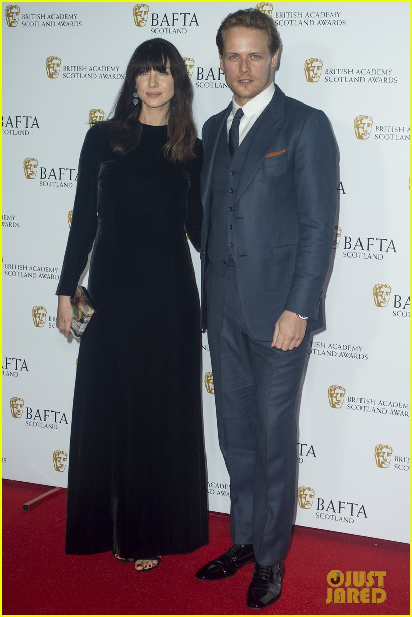 sam heughan caitriona balfe british academy scotland awards 01