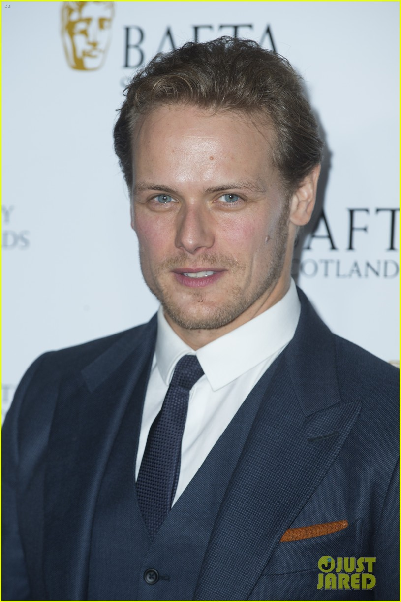 sam heughan caitriona balfe british academy scotland awards 073985570