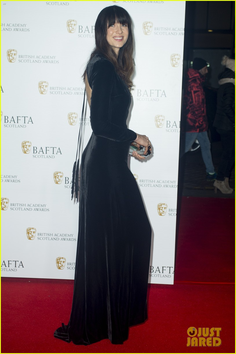 sam heughan caitriona balfe british academy scotland awards 083985571