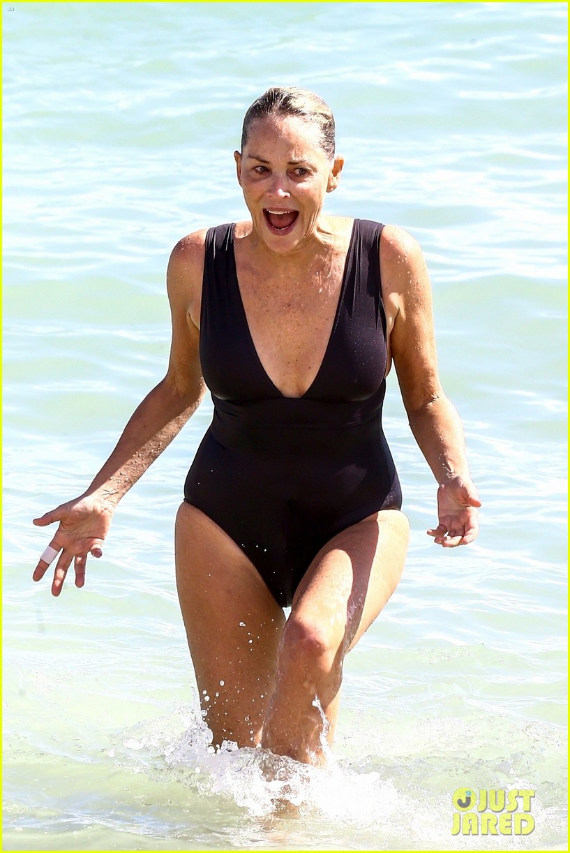 sharon stone beach 2017 023982797
