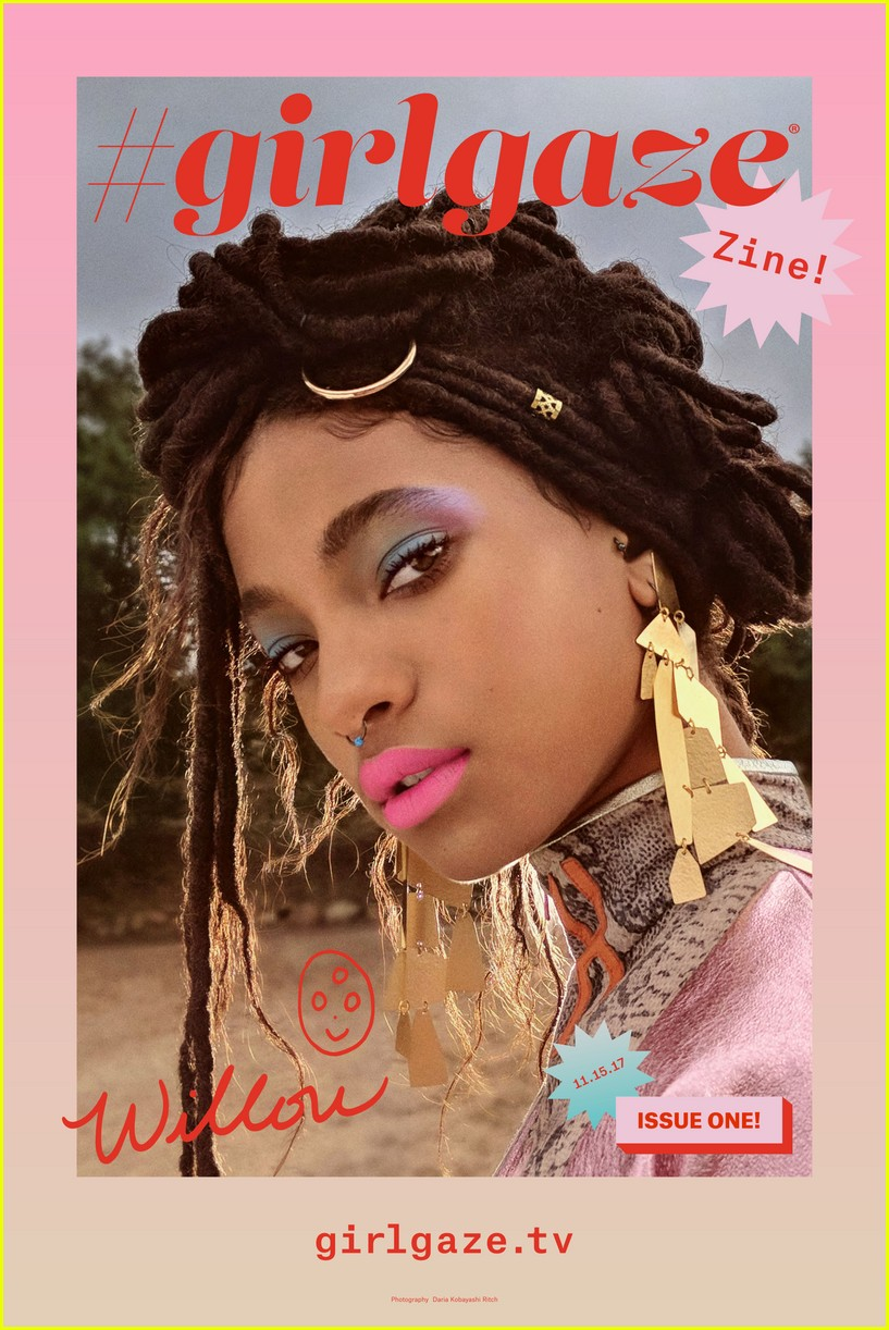 willow smith is girlgaze zines new cover girl see the pics 013991127