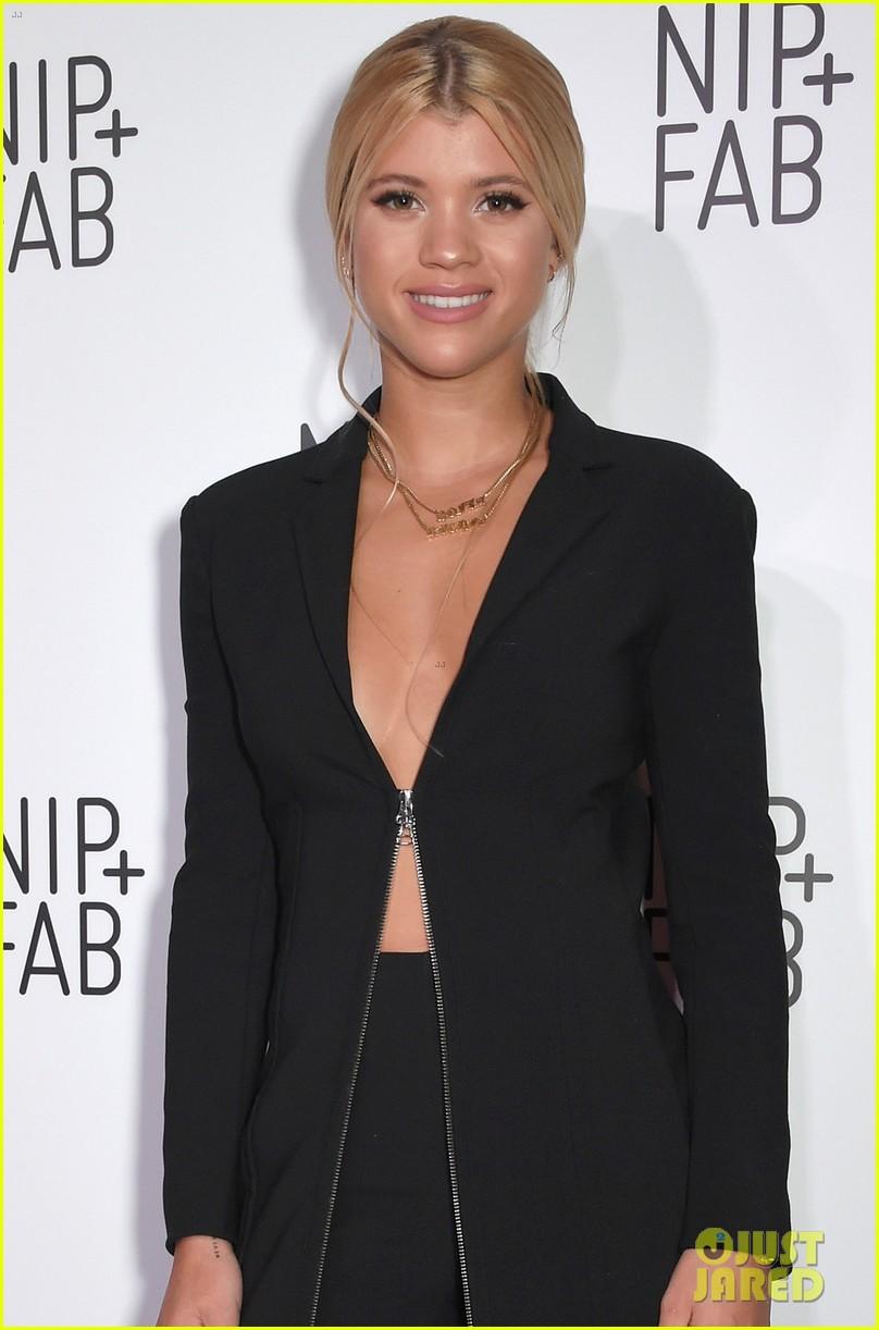 Sofia Richie Gets Named Nip + Fab Skincare Ambassador