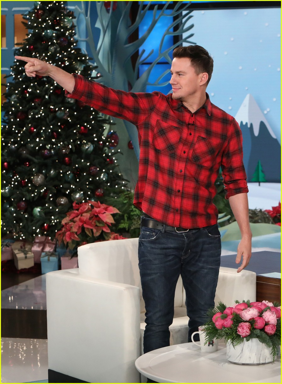 Ellen DeGeneres Gifts Her Audience with Channing Tatum!