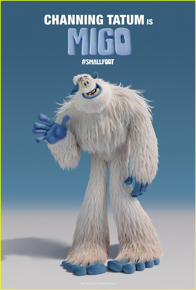 channing tatum smallfoot movie character posters 013991485