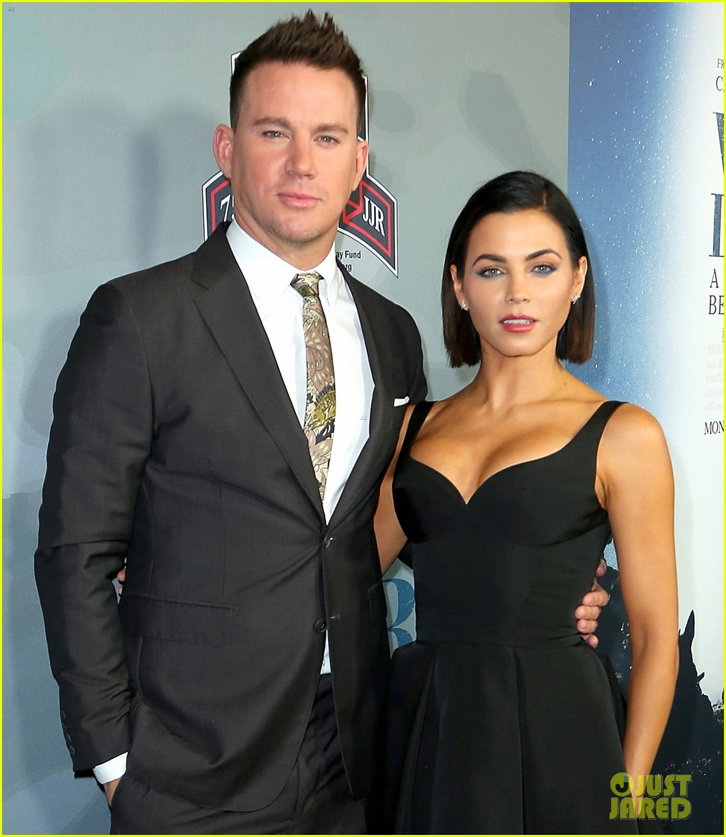channing tatum premieres documentary war dog a soldiers best friend with wife jenna 013983710