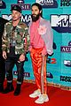 thirty seconds to mars are jokesters on red carpet at mtv emas 04