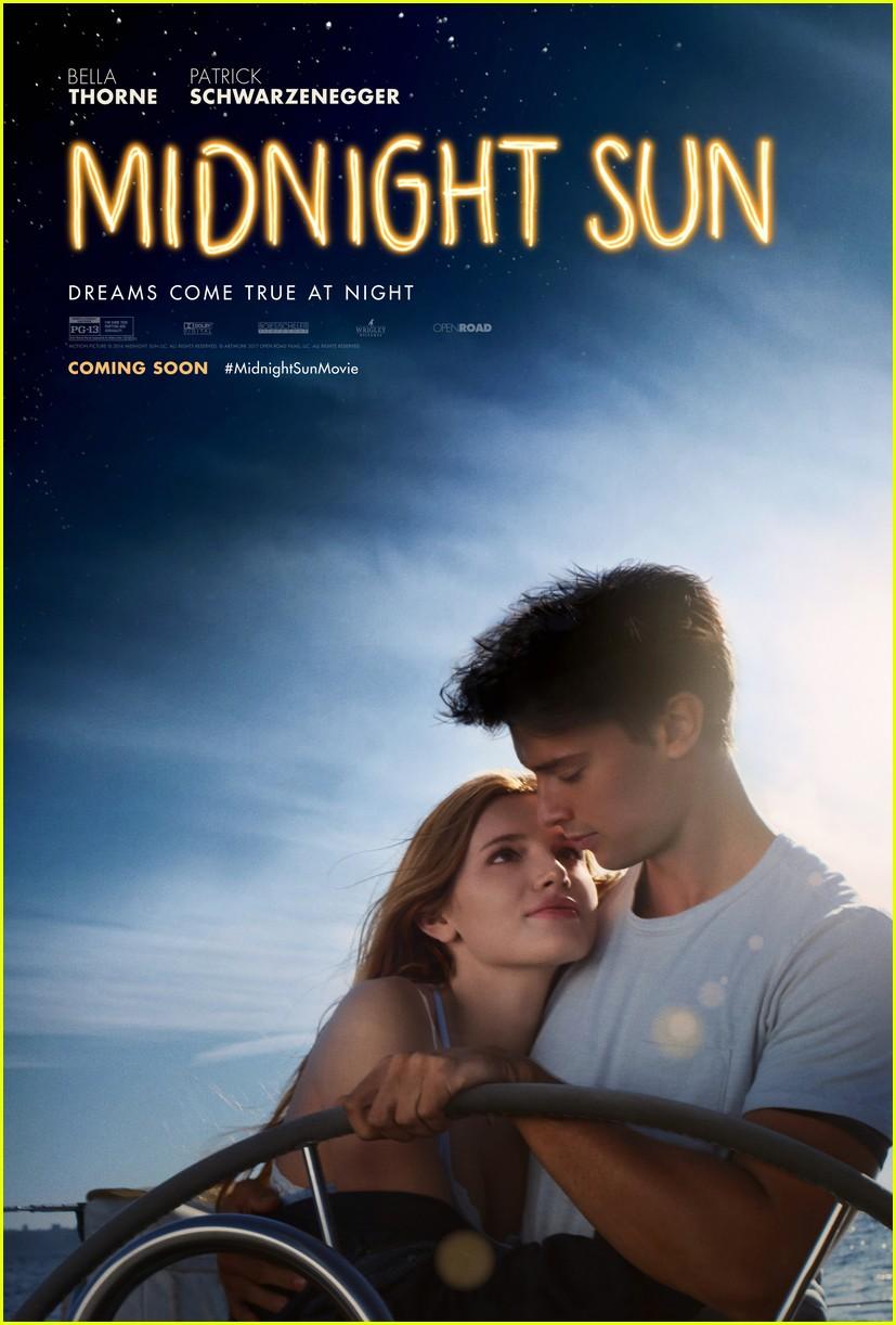 Bella Thorne Amp Patrick Schwarzenegger S Midnight Sun Gets Romantic Poster Photo 3993122