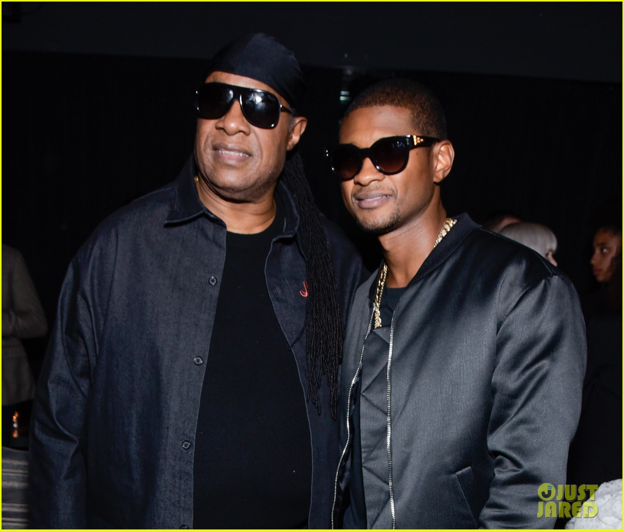 usher gets stevie wonder support at people you may know premiere 023987592