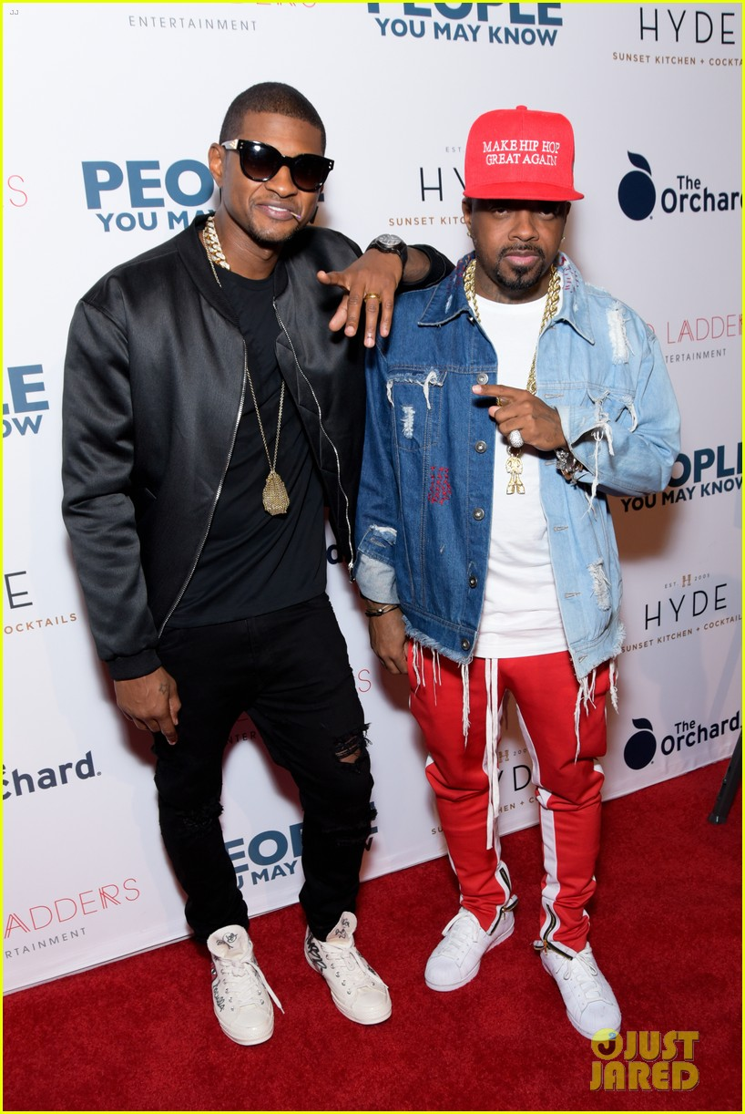 usher gets stevie wonder support at people you may know premiere 053987595