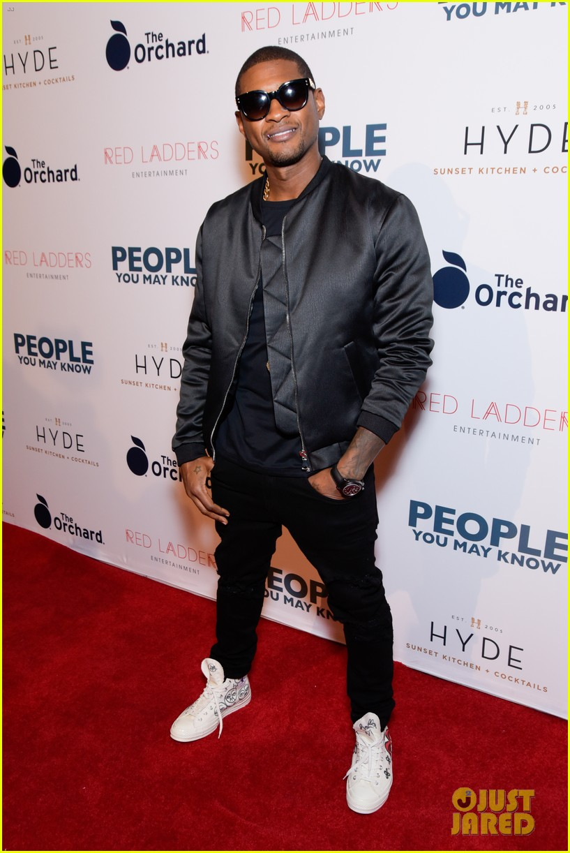 usher gets stevie wonder support at people you may know premiere 073987597