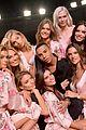 victorias secret angels prep in hair makeup for shanghai show 16