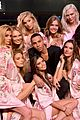 victorias secret angels prep in hair makeup for shanghai show 17