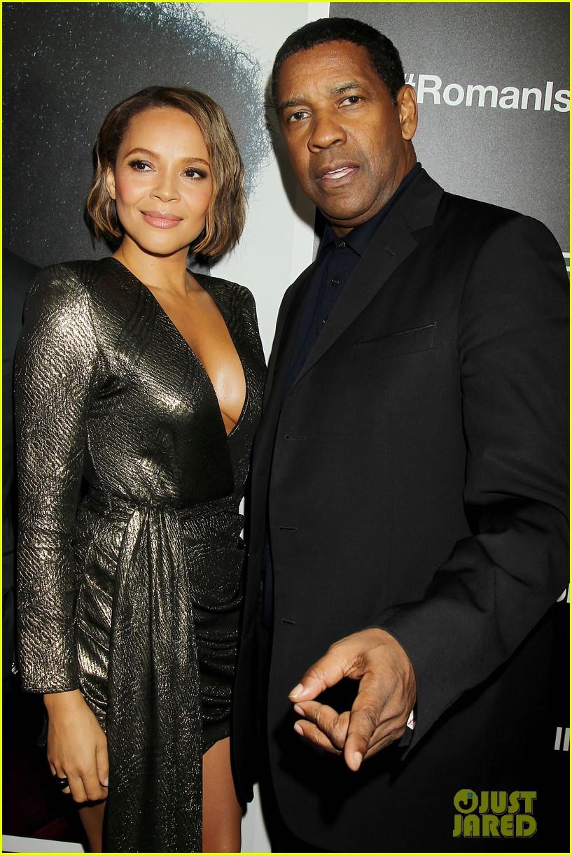 The Movie Roman J Israel >> Denzel Washington & Carmen Ejogo Attend 'Roman J. Israel' Screening in NYC: Photo 3991016 | Alex ...