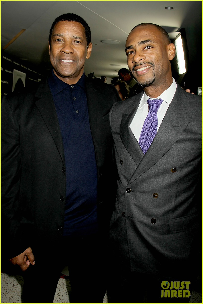 denzel washington attends roman j israel screening in nyc 203991017