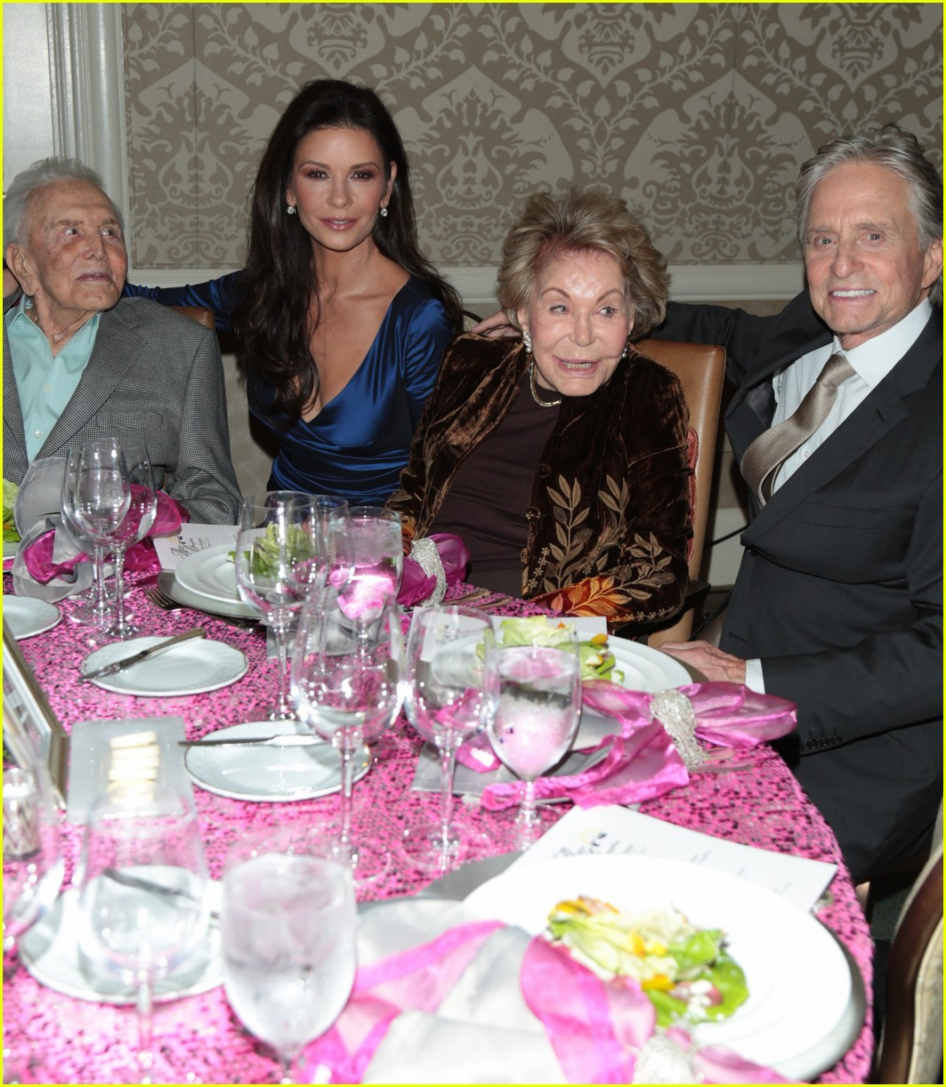 catherine zeta jones gets family support at legacy of vision gala 053985534