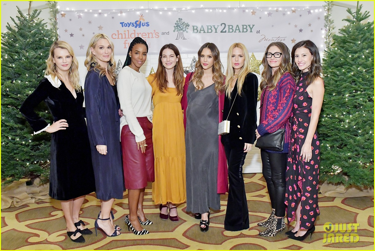 jessica alba kelly rowland michelle monaghan more celebrate at baby2baby holiday 034002528