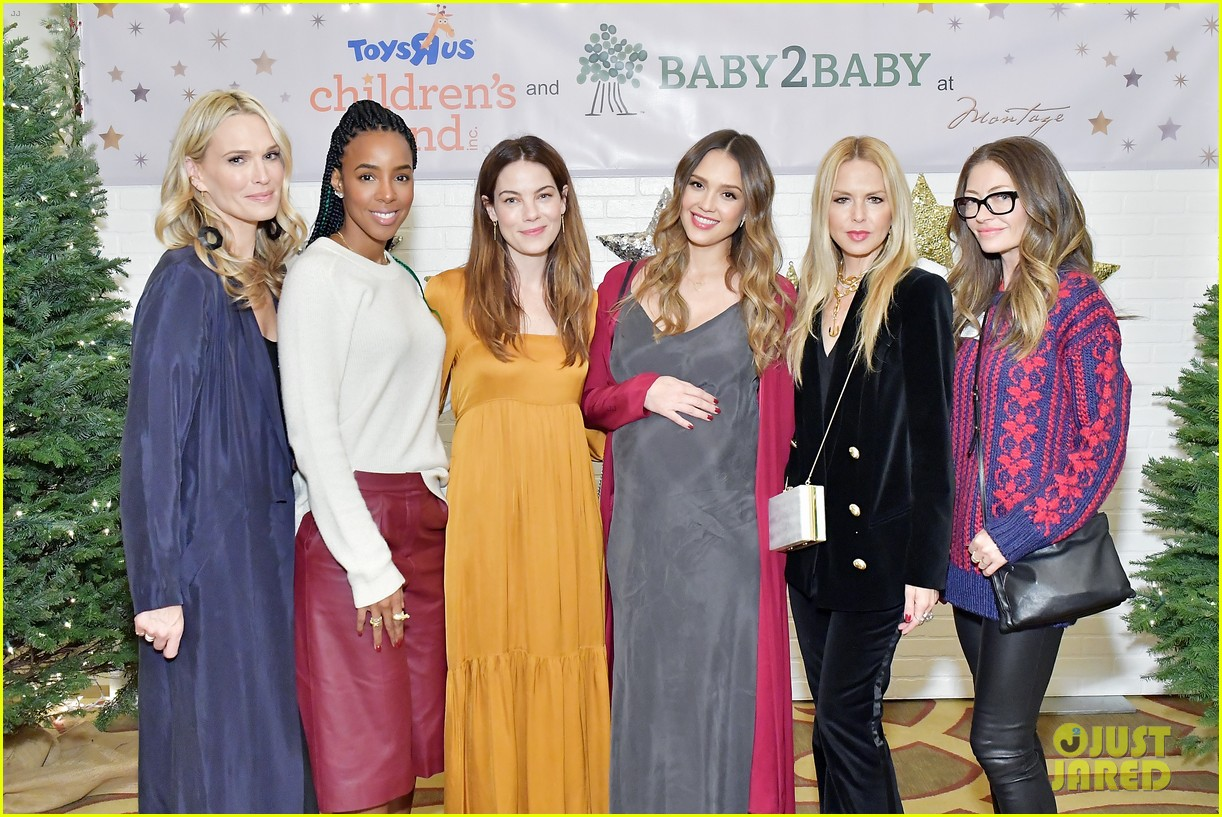 jessica alba kelly rowland michelle monaghan more celebrate at baby2baby holiday 254002550