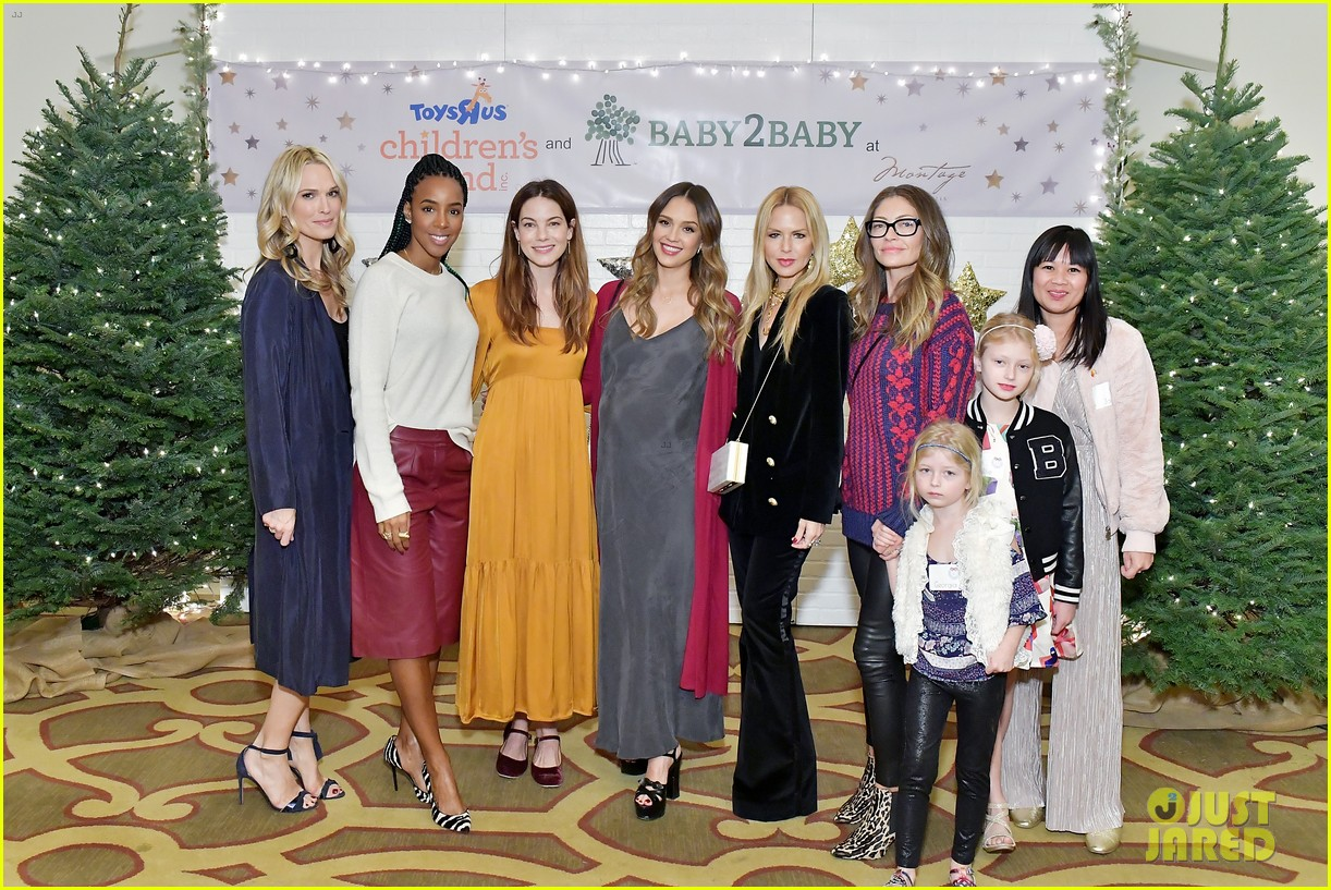 jessica alba kelly rowland michelle monaghan more celebrate at baby2baby holiday 274002552