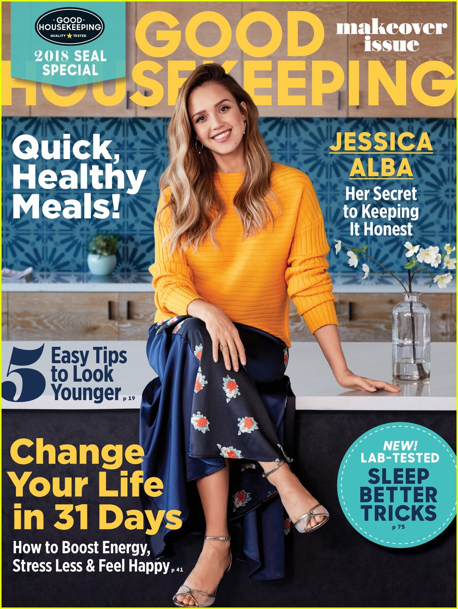 jessica alba good housekeeping 013998172