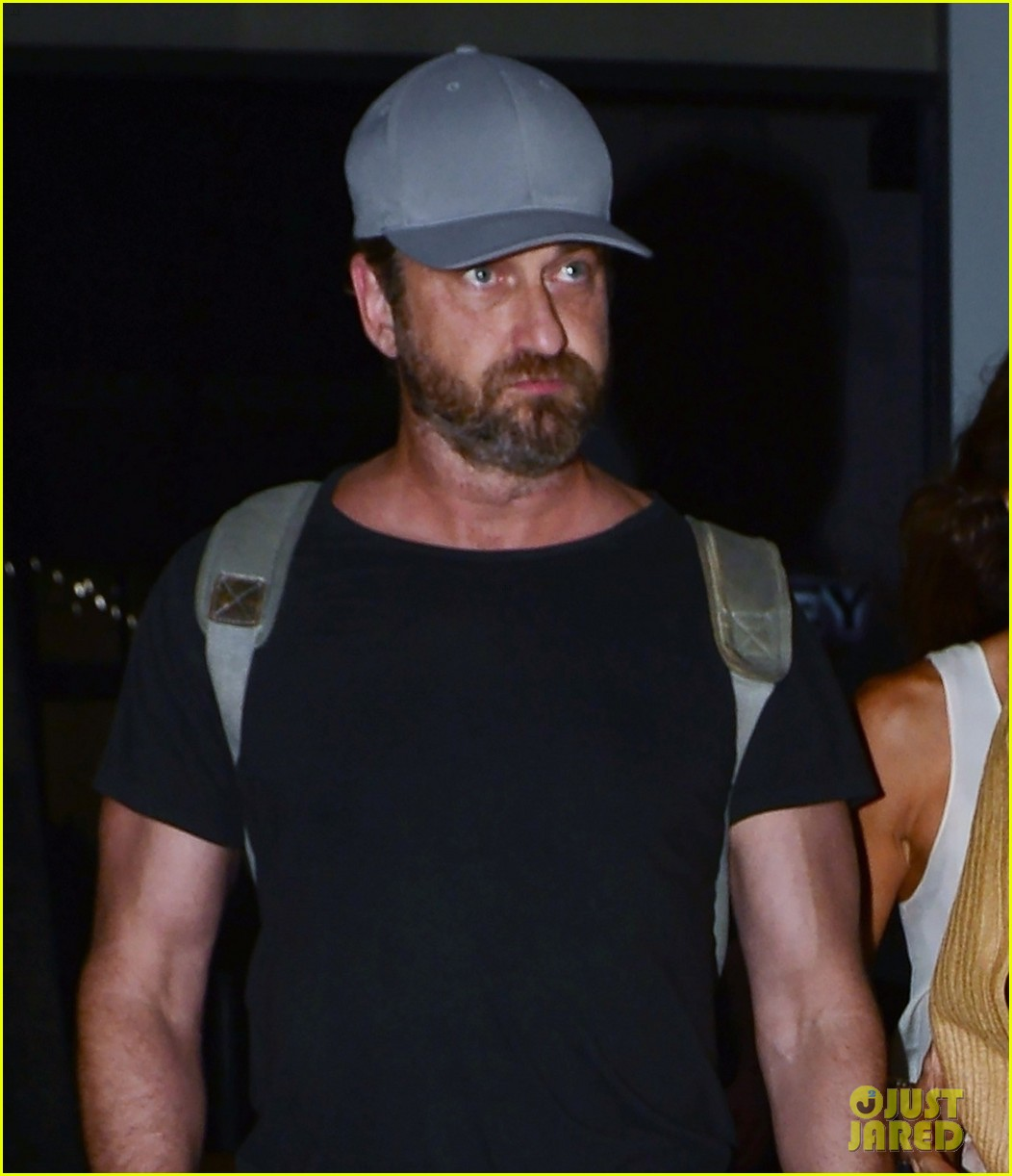 gerard butler girlfriend morgan brown enjoy a night in miami 083999455