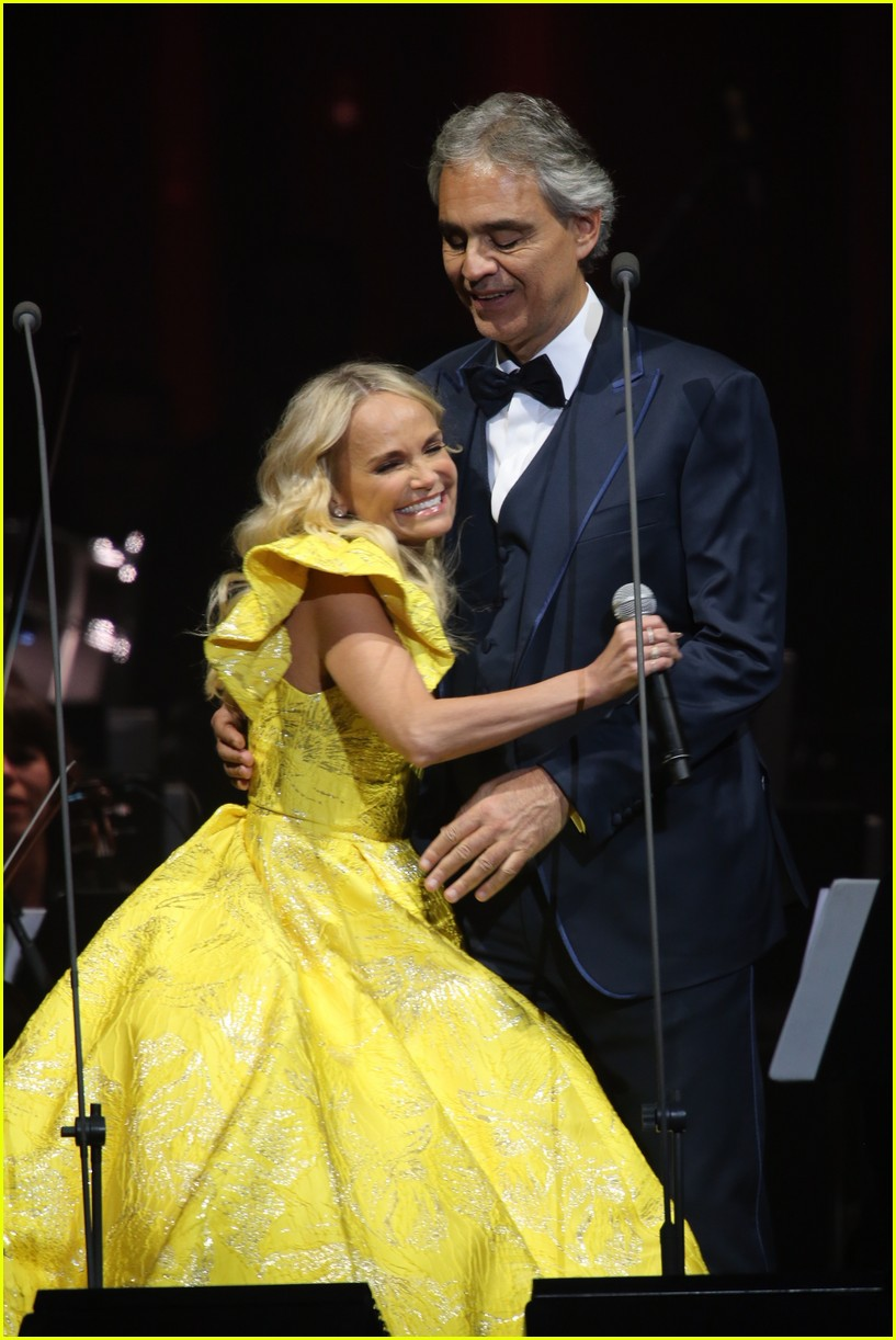 Charming Kristin Chenoweth Joins Andrea Bocelli For Special Concerts At Madison  Square Garden! Nice Design