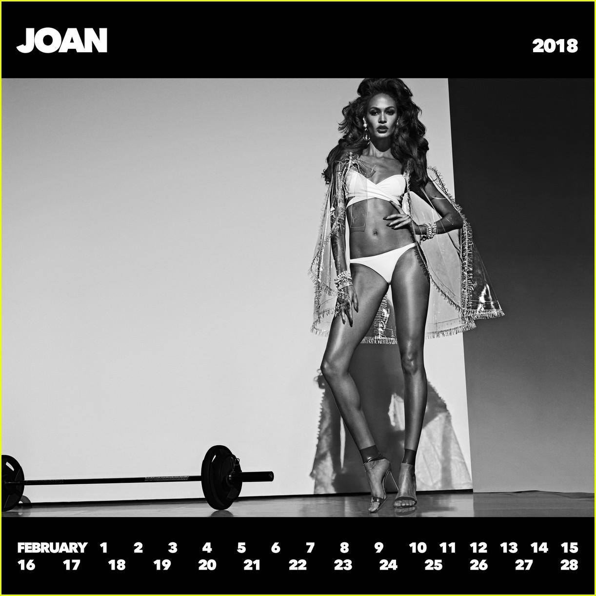 Gigi Hadid, Joan Smalls & More Star in 'CR Girls 2018' Calendar to