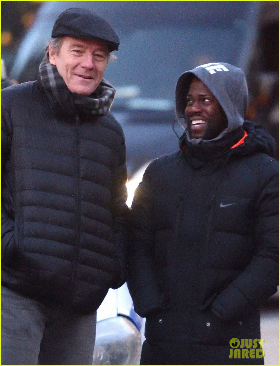 kevin hart gets back to work on the upside with bryan cranston after snl 014002579
