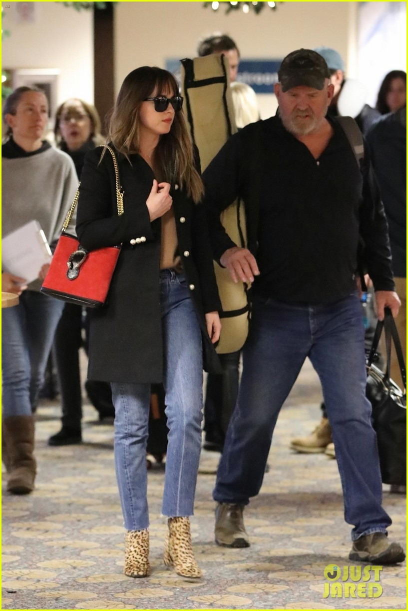Dakota Johnson & Chris Martin Spotted Jetting Out of Paris ...