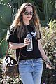 dakota johnson december walking 01