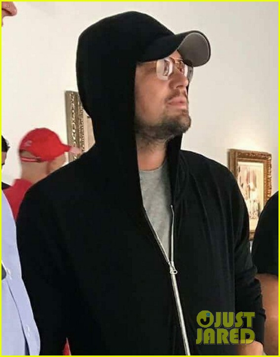 leonardo dicaprio keeps a low profile at art basel in miami 023998431