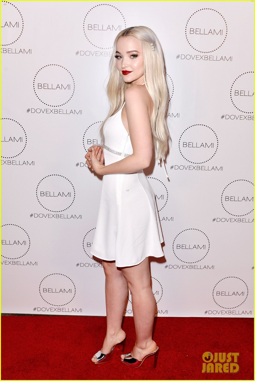 Dove Cameron Celebrates Launch Of Bellami Hair Extension Collection