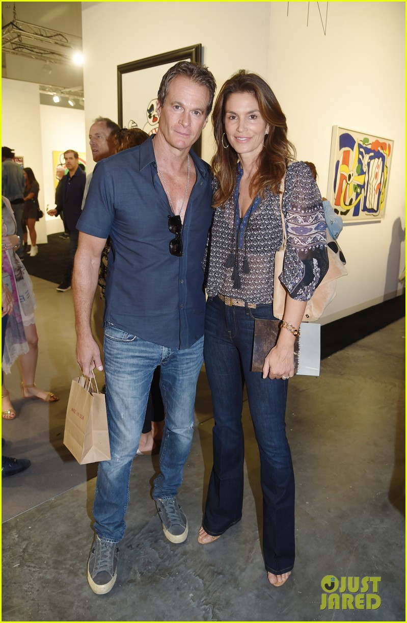 cindy crawford hubby rande gerber hit miami for art basel 043998319