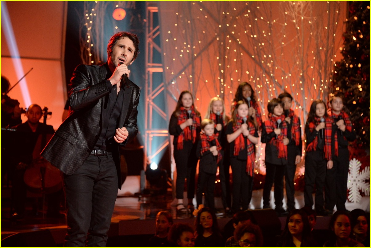 Josh Groban\'s \'Home for the Holidays\' Special - Performers List ...
