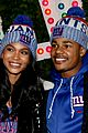 chanel iman new fiance sterling shepard help kick off christmas in nyc 01
