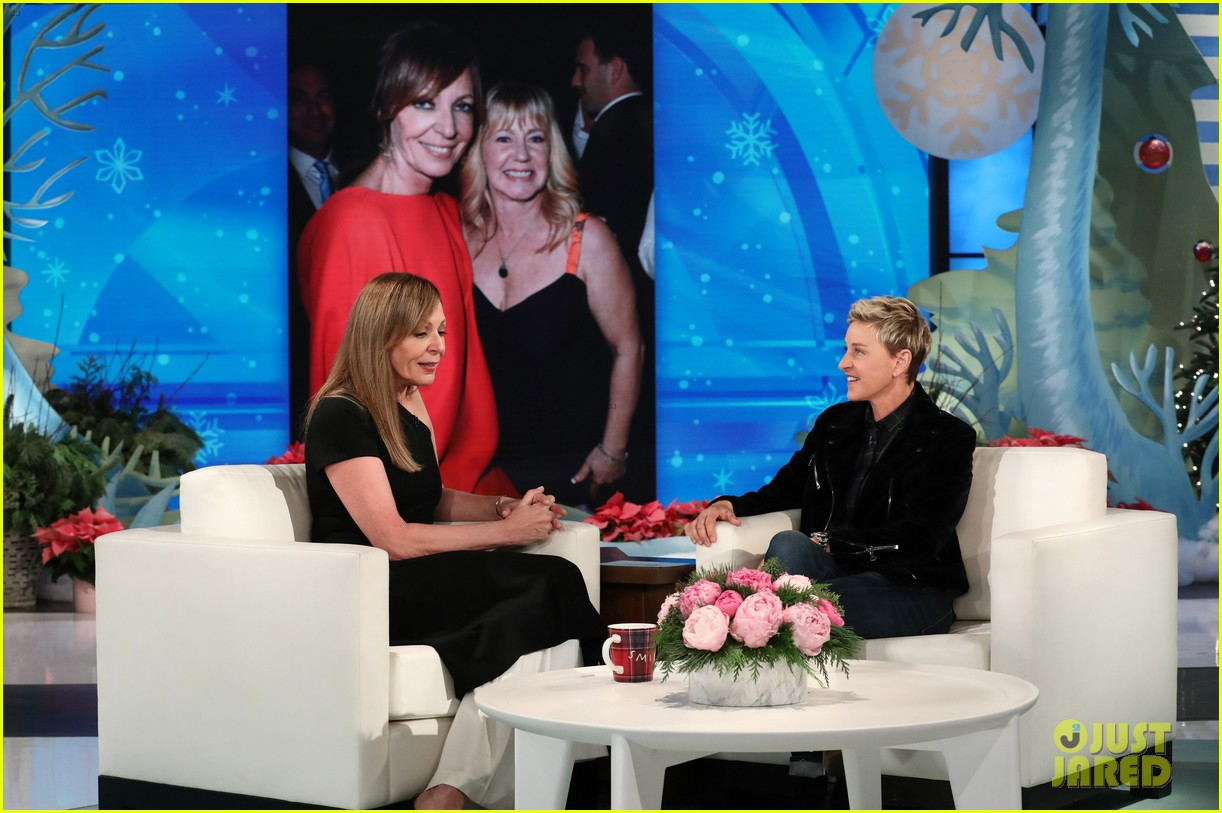 allison janney tells ellen what real life tonya harding thinks about i tonya 023998165