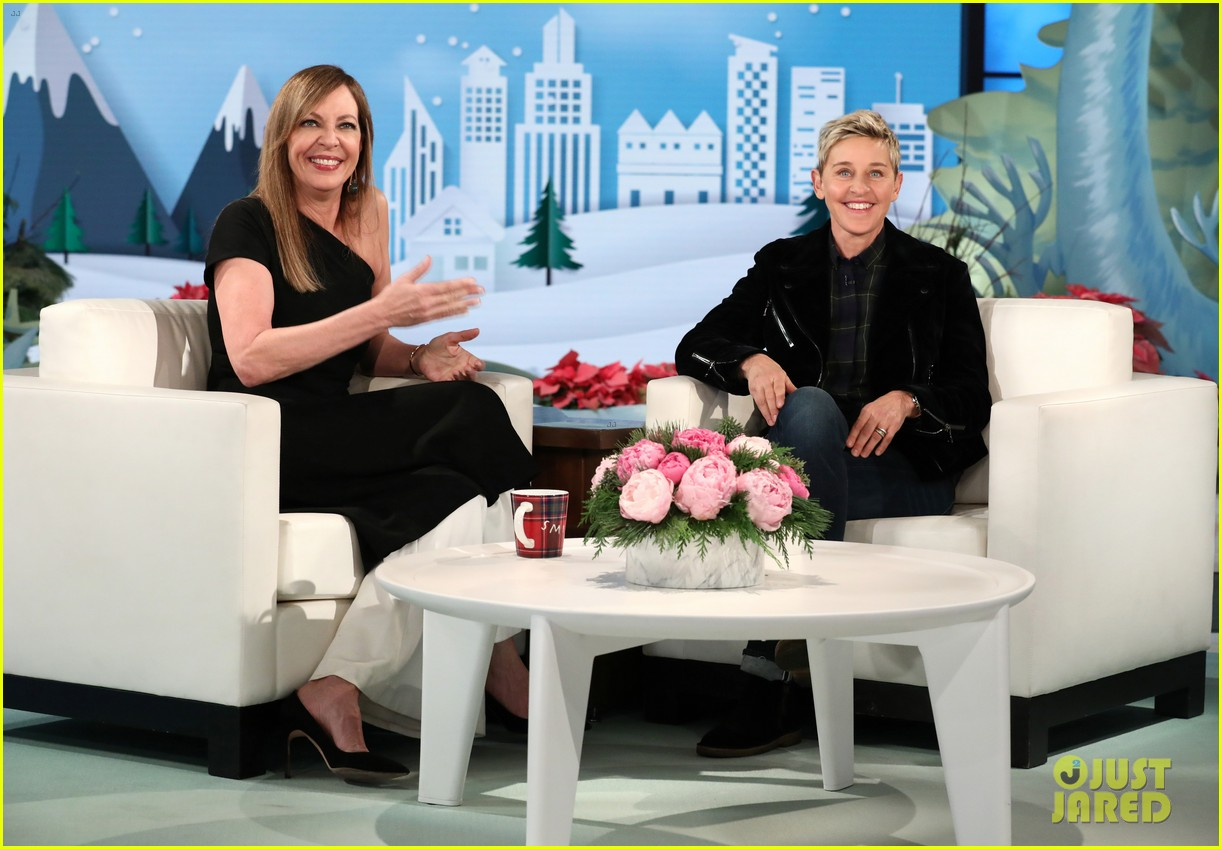 allison janney tells ellen what real life tonya harding thinks about i tonya 033998166