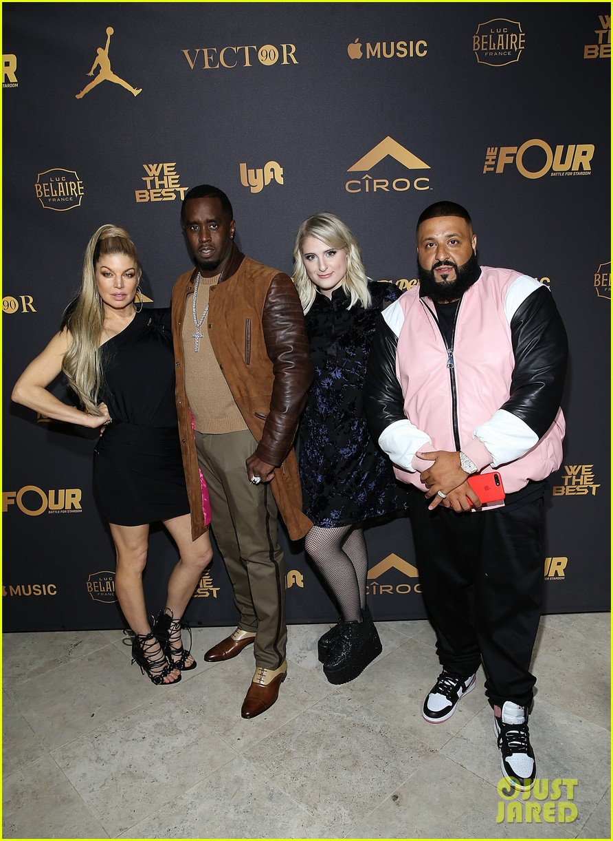 dj khaled celebrates birthday with the four cast 013996211