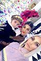 kim kardashian hangs with christina aguilera at christmas party 05