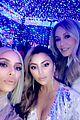 kim kardashian hangs with christina aguilera at christmas party 13