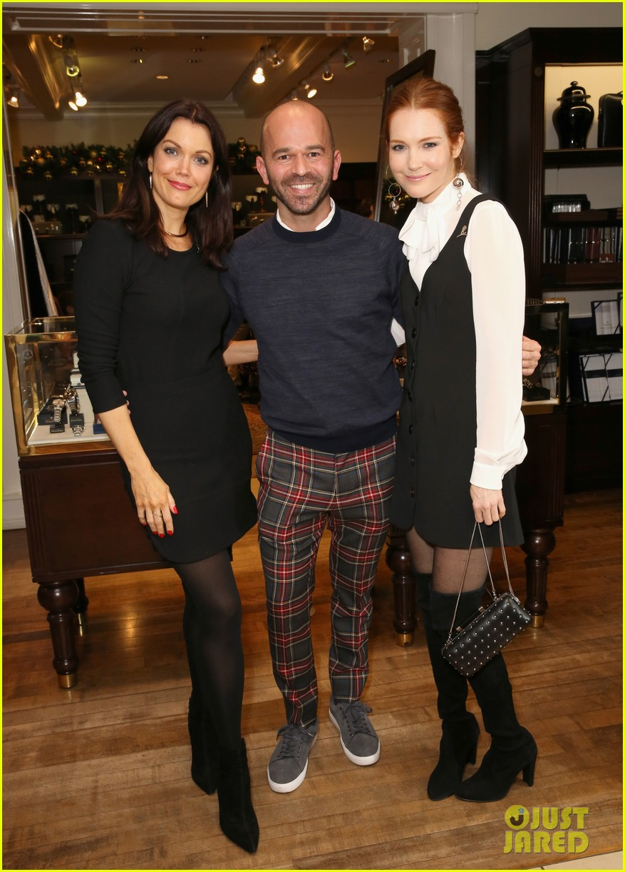 jennifer morrison jaime king camilla belle attend brooks brothers holiday event 133996253