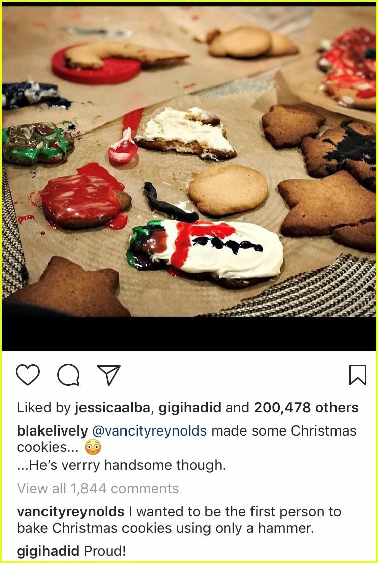 blake lively shows off ryan reynolds poor baking skills 014003998