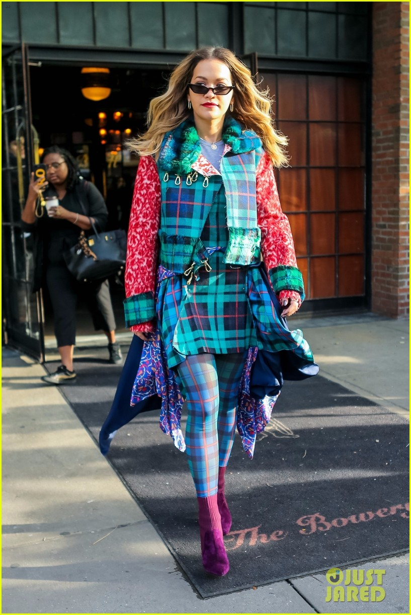 rita ora plaid nyc 013998041