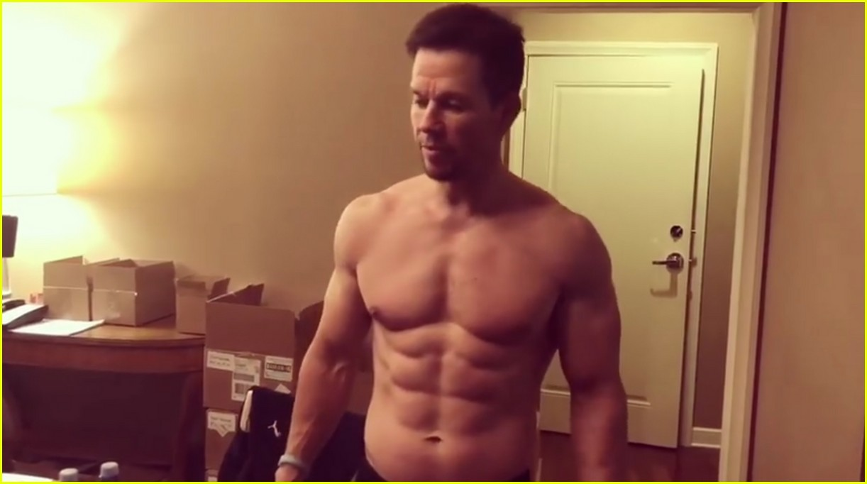 Mark Wahlbergs Body Is Ripped To Shreds These Days