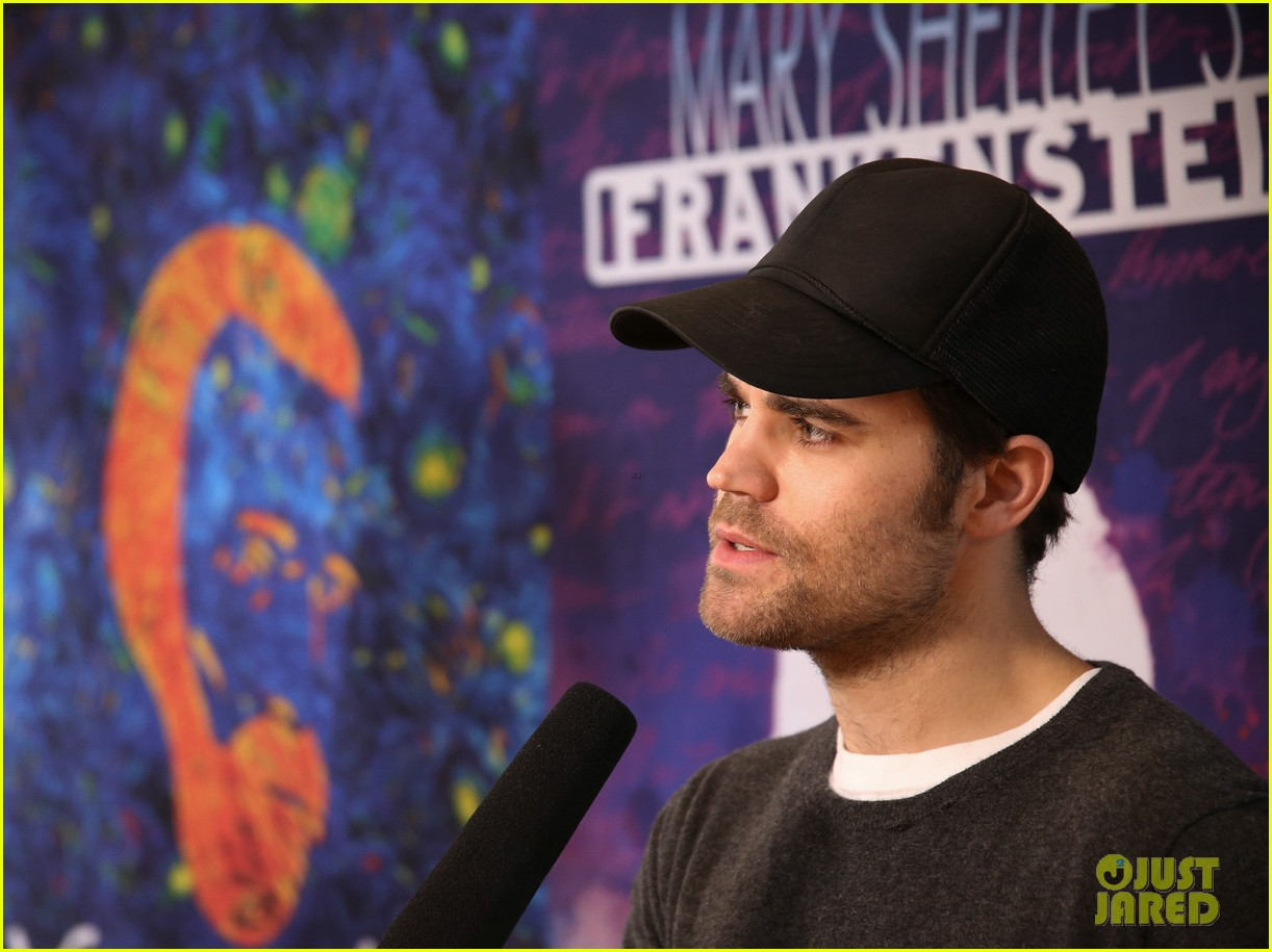paul wesley joins off broadway frankenstein castmates at meet and greet 044001917