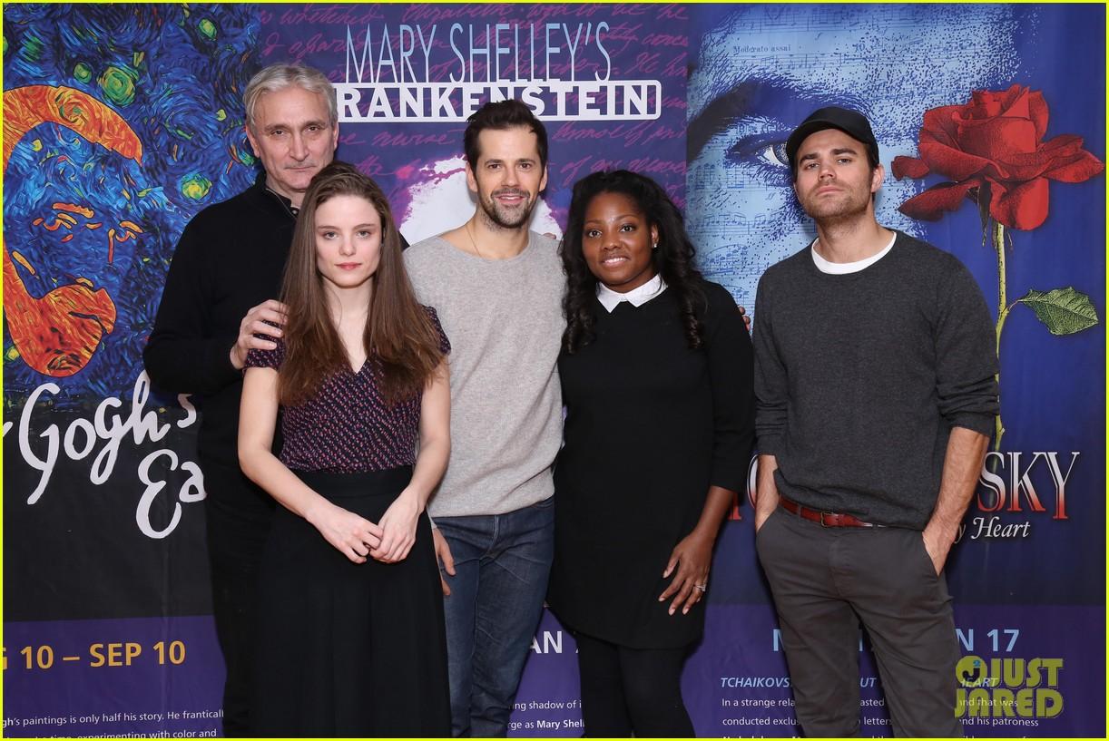 Paul Wesley Joins Frankenstein Off Broadway Castmates At Meet