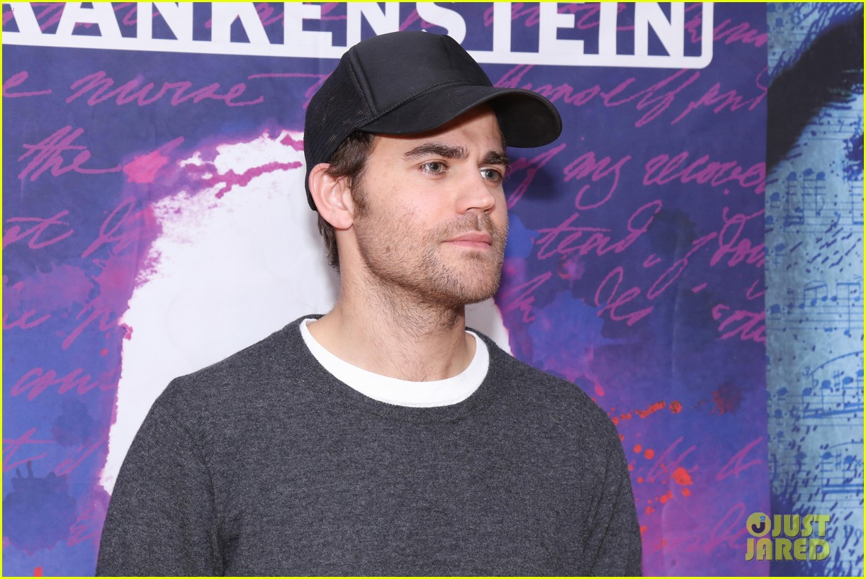 Paul wesley joins frankenstein off broadway castmates at meet paul wesley joins frankenstein off broadway castmates at meet greet kristyandbryce Choice Image