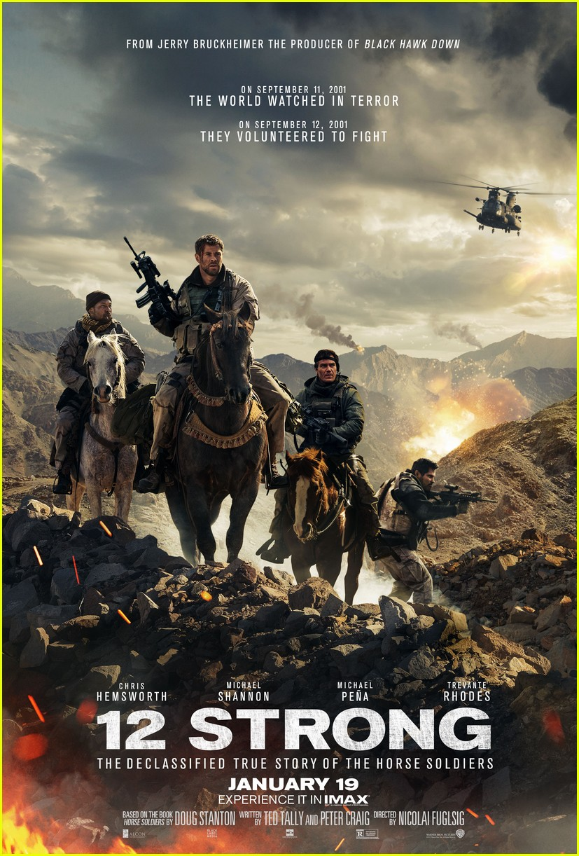 12 strong end credits 014016422