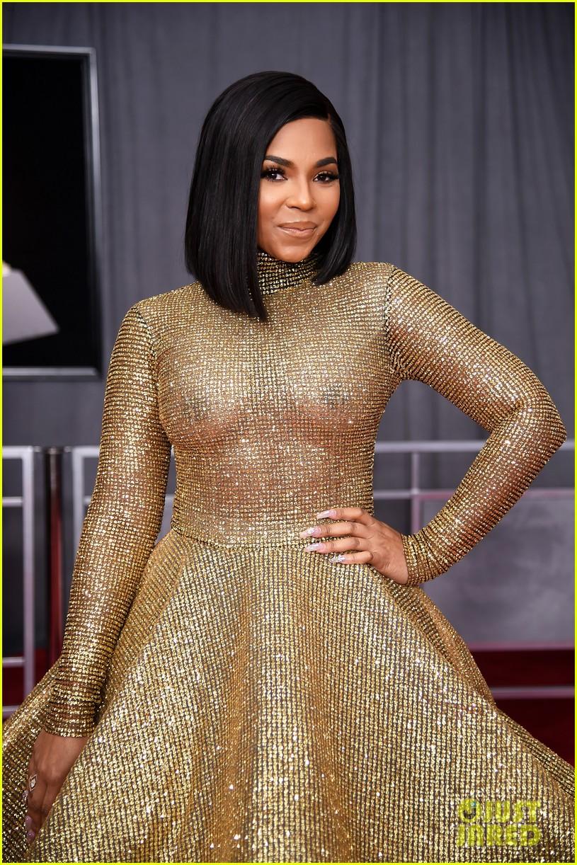 Swift 2018 India >> Ashanti Sparkles in Wavy Gold Dress at the Grammys 2018: Photo 4023223 | 2018 Grammys, Ashanti ...