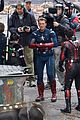 avengers set photos january 10 25